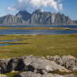 Lofoten coastal landscape — Stock Photo