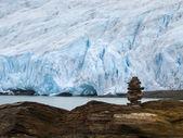 Glaciar svartisen, noruega — Foto de Stock