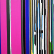 Abstract color belt background - Stock Photo