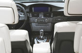 Inside luxury car — Stockfoto