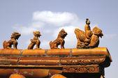 中国古代的建设模式 — 图库照片
