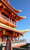 Buddha palace building of chinese — Stock Photo