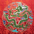 Foto Stock: Dragon pattern
