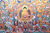 Buddhism painting artwork of tibet — Stock Photo