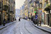 Street i morgonen av rom — Stockfoto