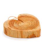 Holz Herz — Stockfoto
