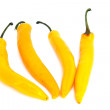 Stock Photo: Yellow hot pepper