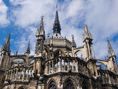 France, Reims, cathedral, detail — Stock Photo