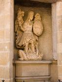 Luxemburg, bas-relief — Stock Photo