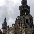 Germany, Dresden, church Bless Virgin — Stock Photo