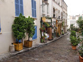 France, Paris, Monmartr, stree — Stock Photo