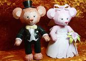 Wedding dolls — Stock Photo