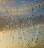 Condensation on the window — Stock Photo