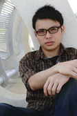 Homem asiático — Foto Stock