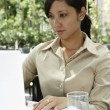 Stock Photo: Businesswoman working