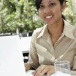 Stockfoto: Businesswoman working