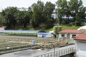Sewage processing plant — Stock Photo