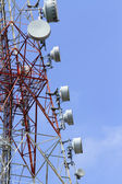 Telecommunications tower — Stock Photo