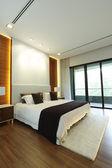 Modern yatak odası — Stok fotoğraf