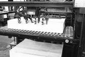 印刷机 — 图库照片