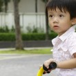 Boy on tricycle — Stock Photo #3281599