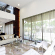 Foto Stock: Modern living room