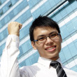 Asian business executive — Stock Photo