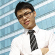 Asian business executive — Foto de Stock