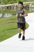 Jogger in the Park — Stock Photo