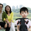 Stock Photo: Child with family