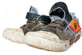 Stare pantofle — Zdjęcie stockowe
