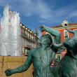 Fountain at Nice, France - Zdjęcie stockowe