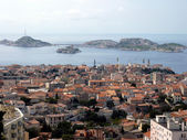 Marseilles and Frioul islands, France — Stock Photo