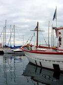 Båt för dykare — Stockfoto