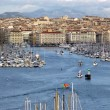 Marseilles, old port, France - Stock Photo