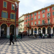 Massena place, Nice, France — Stock Photo