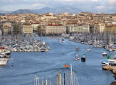 Marseilles, old port, France — Stock Photo