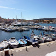 Saint-Tropez port, France — Stock Photo
