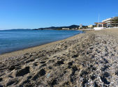 Lavandou beach, France — Foto de Stock