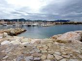 Sanary-sur-mer marina, France — Stock Photo