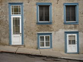 Facade in old Quebec, Canada — Stockfoto