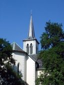 Protestant church in Geneva, Switzerland — Stock Photo