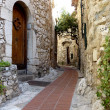 Eze old village street - Stock Photo
