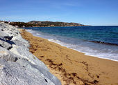 Beach in south of France — Stock Photo