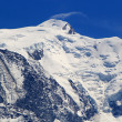 Mont-Blanc massif, France — Stock Photo
