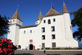 Old castle in Nyon, Switzerland — Stock Photo