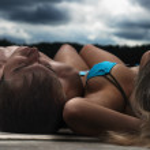 Relaxing couple — Stock Photo
