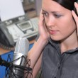 In radio studio — Stock Photo #3325646