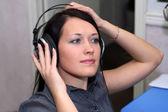 Live listening — Stockfoto