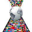 Foto Stock: Flags of the world